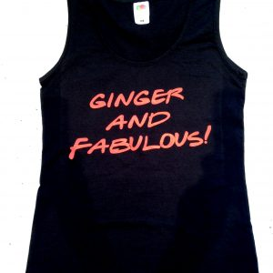 Ginger and Fabulous top